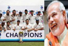 Photo of ഓസ്ട്രേലിയൻ പാരമ്പരവിജയം നേടിയ ഇന്ത്യൻ ക്രിക്കറ്റ് ടീമിന് അഭിനന്ദനങ്ങളുമായി മോദി