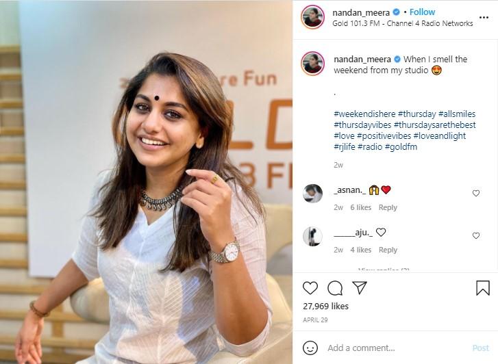 Meera Nandan1